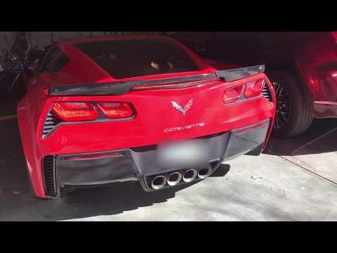 Corvette Grand Sport - Stock Exhaust Rev - Track Mode