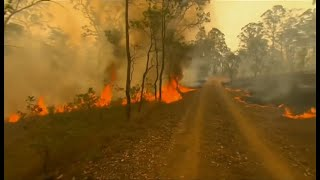 Weather Events 2019 - Code Red Warning (Australia) - BBC - 21st November 2019