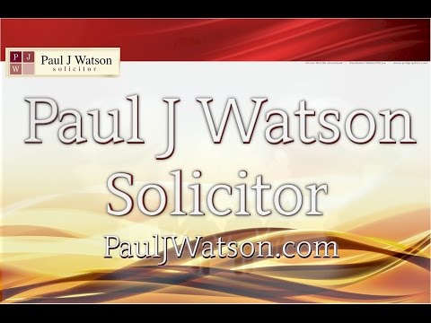 Solicitor in Middlesbrough Paul J Watson Solictor