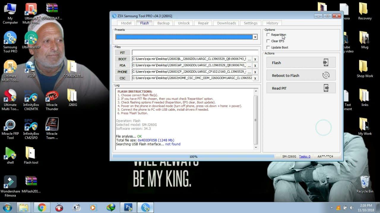 how to samsung j2 core j260g frp unlock