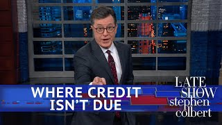 """Donald Trump is basking in the glory of his presidency's crowning achievement: not ruining a funeral.  Subscribe To """"The Late Show"""" Channel HERE: http://bit.ly/ColbertYouTube For more content from """"The Late Show with Stephen Colbert"""", click HERE: http://bit.ly/1AKISnR Watch full episodes of """"The Late Show"""" HERE: http://bit.ly/1Puei40 Like """"The Late Show"""" on Facebook HERE: http://on.fb.me/1df139Y Follow """"The Late Show"""" on Twitter HERE: http://bit.ly/1dMzZzG Follow """"The Late Show"""" on Google+ HERE: http://bit.ly/1JlGgzw Follow """"The Late Show"""" on Instagram HERE: http://bit.ly/29wfREj Follow """"The Late Show"""" on Tumblr HERE: http://bit.ly/29DVvtR  Watch The Late Show with Stephen Colbert weeknights at 11:35 PM ET/10:35 PM CT. Only on CBS.  Get the CBS app for iPhone & iPad! Click HERE: http://bit.ly/12rLxge  Get new episodes of shows you love across devices the next day, stream live TV, and watch full seasons of CBS fan favorites anytime, anywhere with CBS All Access. Try it free! http://bit.ly/1OQA29B  --- The Late Show with Stephen Colbert is the premier late night talk show on CBS, airing at 11:35pm EST, streaming online via CBS All Access, and delivered to the International Space Station on a USB drive taped to a weather balloon. Every night, viewers can expect: Comedy, humor, funny moments, witty interviews, celebrities, famous people, movie stars, bits, humorous celebrities doing bits, funny celebs, big group photos of every star from Hollywood, even the reclusive ones, plus also jokes."""