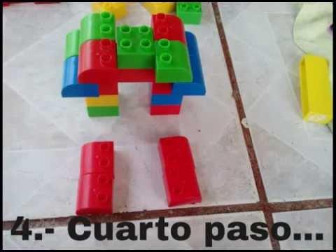 Figuras con bloques 2014 youtube for Como hacer una piscina con bloques