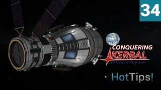 Kerbal Space Program [1.1.2] - Ep 34 -  7 Kerbals to Minmus Conclusion - Let