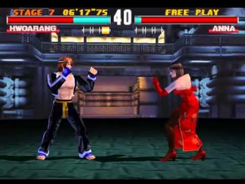 Tekken 3 Hwoarang Arcade Hard Psx Youtube