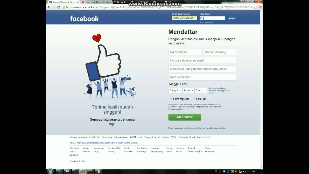 Cara Hack Facebook Teman Dalam 1 Menit