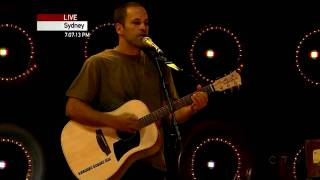 Jack Johnson, Spring wind - Fall Line | Live Earth, Sydney