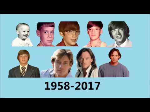 Kevin Sorbo evolution 1958-2017 - Shape of you