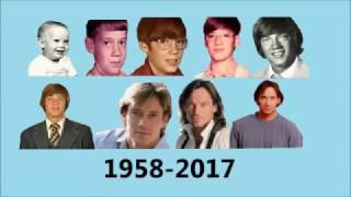Kevin Sorbo evolution 1958-2017 - Shape of you