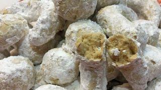 Mexican Wedding Cakes Or Irish Tea Cakes In Gujarati
