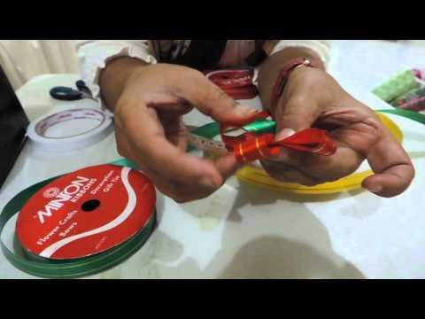 Cara Membuat Hiasan Sederhana Pita Jepang