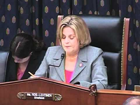 Ros-Lehtinen Statement at Hearing on Holocaust Survivors' Rights