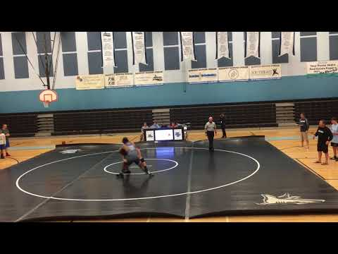 Matt Weiland Wrestling at Ponte Vedra High School 2017