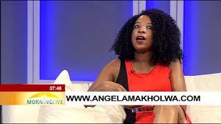 Angela Makholwas novel titled THE BLESSED GIRL