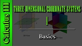 Calculus III: Three Dimensional Coordinate Systems (Level 1 of 10) | Basics