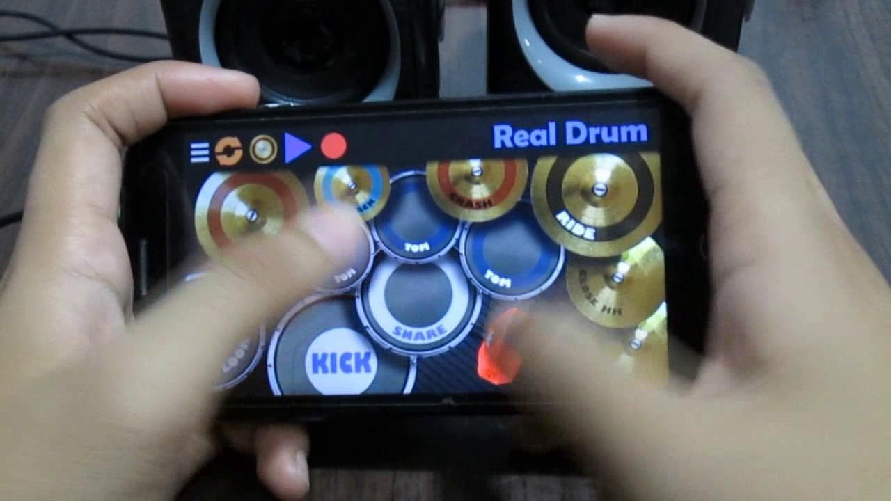 Shape Of You Ed Sheeran Real Drum App Cover Youtube