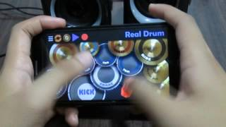 Shape of you ( Ed Sheeran ) - Real Drum App Cover Mp3