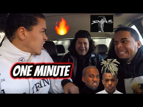 XXXTENTACION X KANYE WEST - ONE MINUTE (REVIEW REACTION)