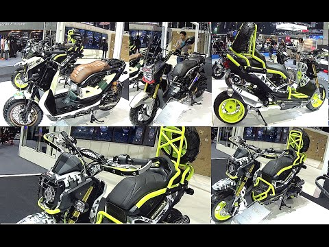 2016 2017 honda zoomer x all new honda zoomer x 125 2016 2017 custom modify youtube. Black Bedroom Furniture Sets. Home Design Ideas