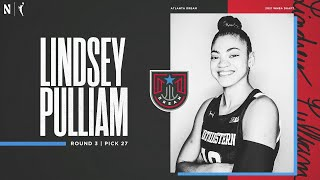 Northwestern Women's Basketball | Lindsey Pulliam WNBA Draft