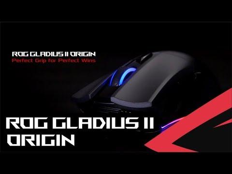 ROG - Mouse Gladius II Origin