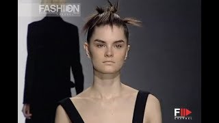 HUGO BOSS Fall Winter 2001 2002 New York - Fashion Channel