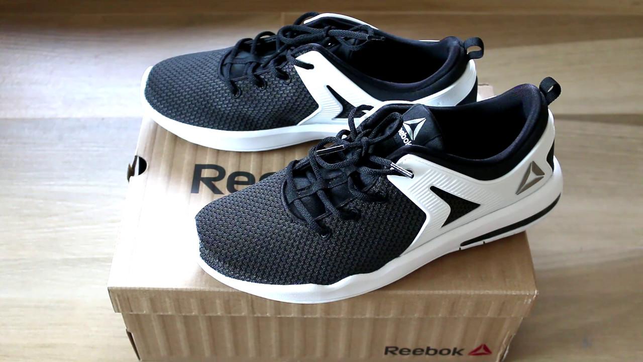 84cbb76655f351 ... Running Shoes GreyBlackWhite แกะกล่อง + ลองใส่ Reebok hexalite x glide  BS7618 GBL Mens ...