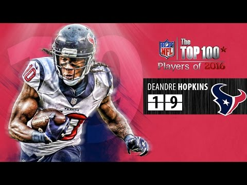 #19: DeAndre Hopkins (WR, Texans) | Top 100 NFL Players of 2016