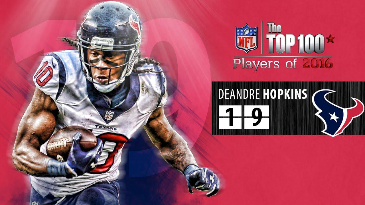 19 DeAndre Hopkins WR Texans