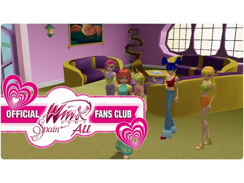Winx Club PC Game - 3. Bloom Goes To Alfea