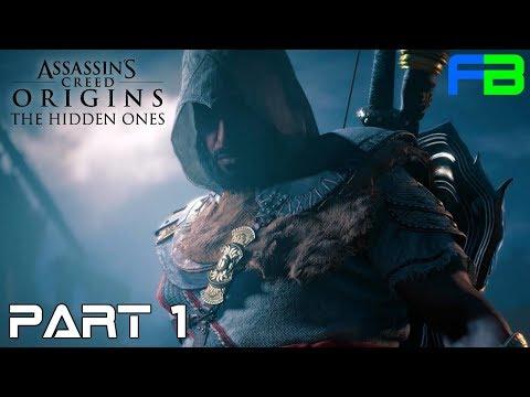 Assassin's Creed: Origins - The Hidden Ones Gameplay Walkthrough: Part 1