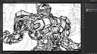 How to Draw OPTIMUS PRIME (Part A)