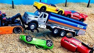 Coches y Camiones de Juguetes para Niños - Construction Vehicles Toy - Maquinas de Construcción