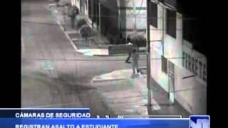 VICTOR LARCO: Cámaras de seguridad registran asalto - Antena Norte Noticias