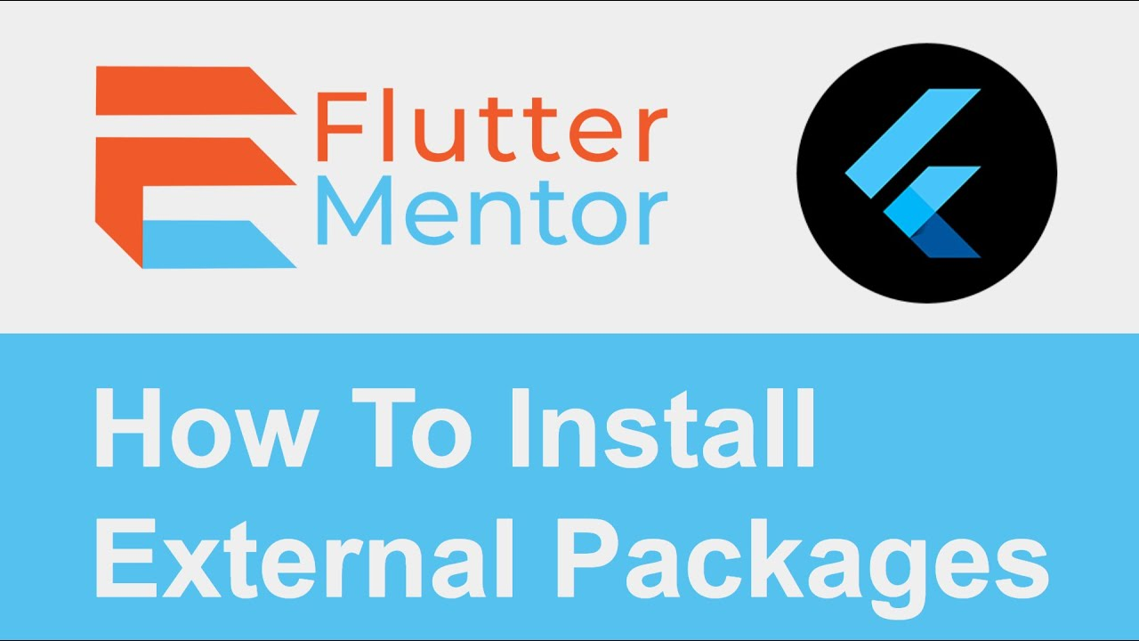 How To Install External Packages (Random ID Generator Package Example) - Flutter