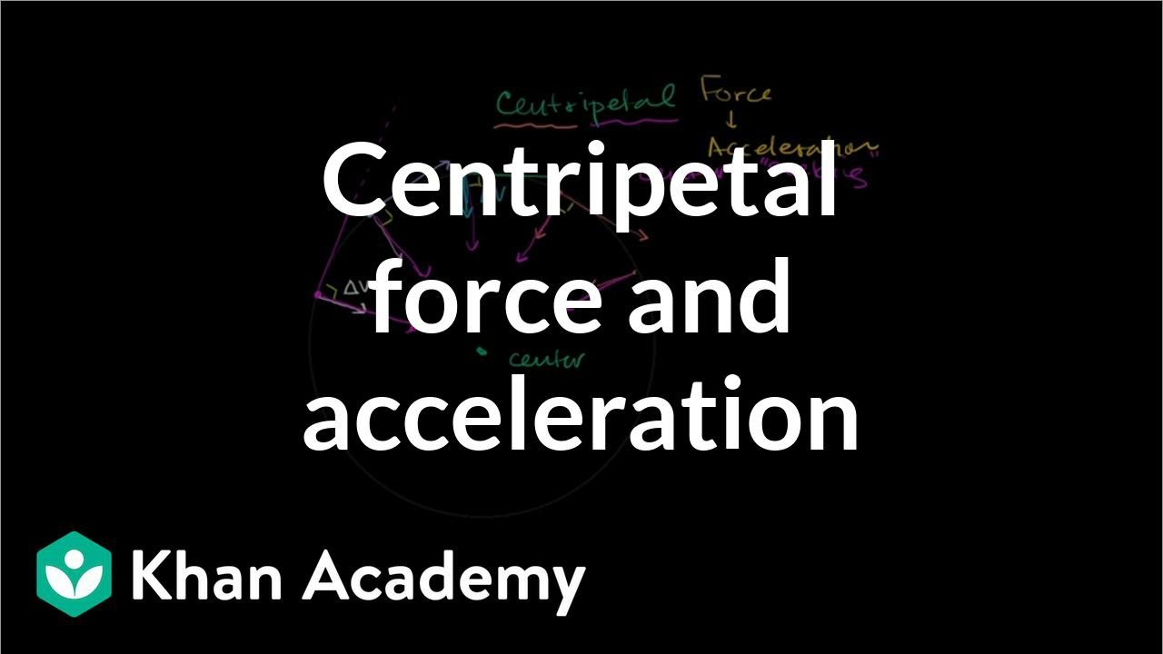 Centripetal force and acceleration intuition (video) | Khan