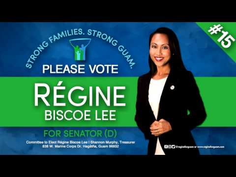 Meet Régine Biscoe Lee, candidate for the 34th Guam Legislature