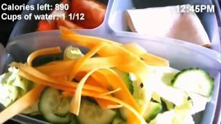 My weight loss food diary | Scola Dondo
