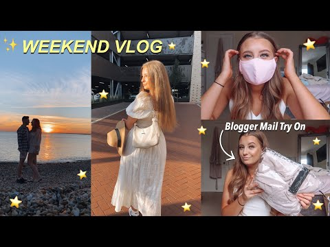 chilled-out-weekend-vlog-✨-/-evening-at-the-beach,-blogger-mail-&-updated-skin-care!-tasha-glaysher