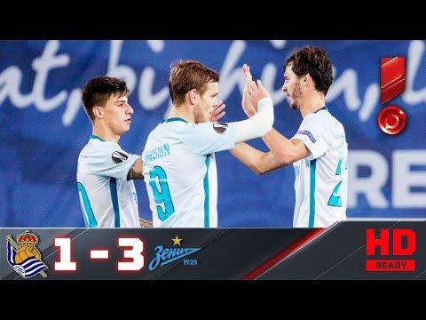 07.12.2017г. Реал Сосьедад – Зенит – 1:3. Обзор матча