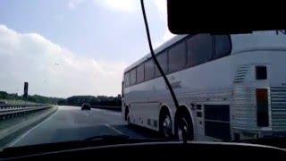 Die Reimanns Eagle Bus auf dem weg nach Hamburg.1