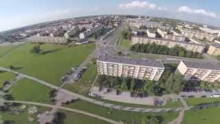 Kutno - Miasto z lotu ptaka.