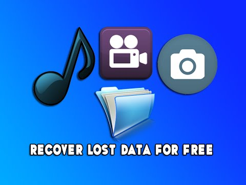 Recover Lost Data for Free