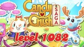 Candy Crush Saga Level 1082 - ★★★