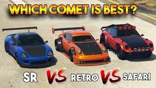 GTA COMET SAFARI VS COMET SR VS COMET RETRO CUSTOM (WHICH IS BEST COMET?)