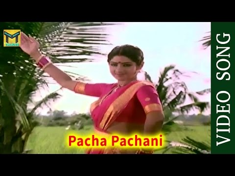 Pacha Pachani Video Song || Bhoga Bhagyalu Movie || Krishna, Sridevi