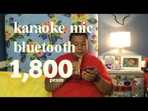 Karaoke Bluetooth Mic  handy   1800 pesos super Sulit