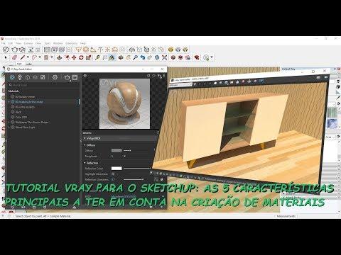 Tutorial VRAY para SketchUp: Os Cinco Princípios Fundamentais na Criação de Materiais no VRAY thumbnail
