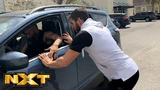 Johnny Gargano tries to chase down Tommaso Ciampa in the WWE PC parking lot: March 24, 2018 thumbnail