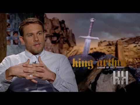 Charlie Hunnam Says Djimon Hounsou Kicked Everyone's A$$ On 'King Arthur' Set