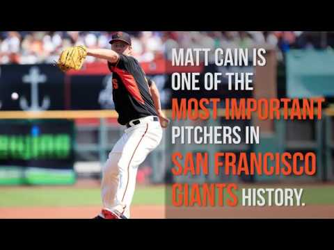 Matt Cain's importance to Giants' franchise cannot be understated